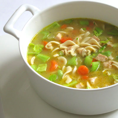 chicken soup cure