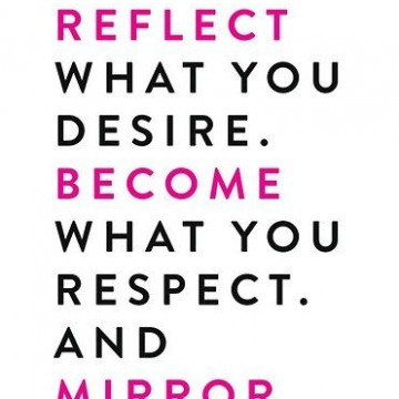 Attract – Reflect – Become – Mirror