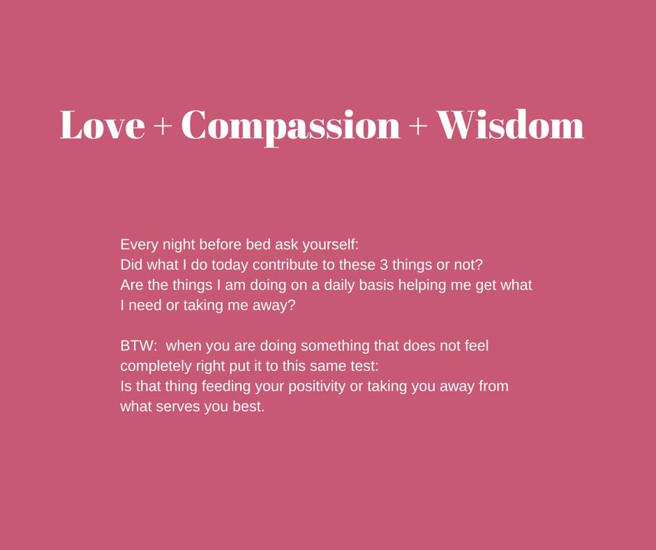 Love + Compassion + Wisdom (1)